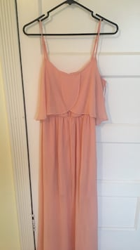 Pink sleeveless long dress Coquitlam, V3K