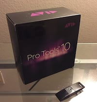 used avid pro tools 10 software version 10 0 with dvds and ilok licensed usb dongle for sale in. Black Bedroom Furniture Sets. Home Design Ideas