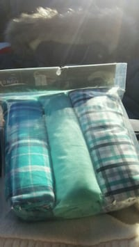 blue and white plaid textile Knoxville, 37919