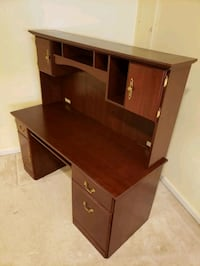 Wood Computer Desk with