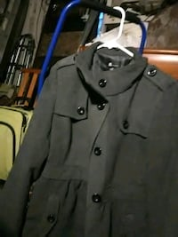 gray button-up coat Miamisburg, 45342