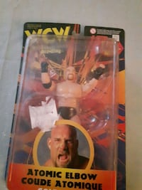 Bill Goldberg atomic elbow toy  Markham, L3S 3E5