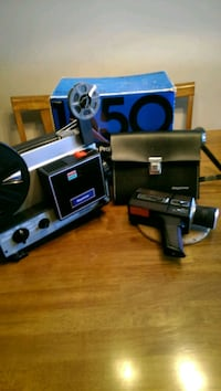 Keystone movie camera and projector