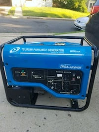 blue and black portable generator Manassas Park, 20111