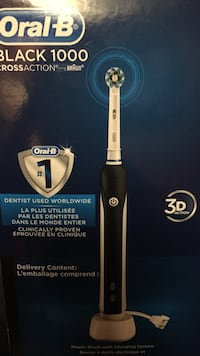 Oral-B Black 1000 CrossAction Toronto, M6H 2X6