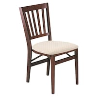 2 chairs stakmore the folding with permanent look Stockton
