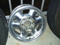 "16"" 6lug used GMC Factory rims with caps Suitland-Silver Hill"