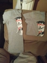Matching canada day shirts size med and large Hamilton, L8L 7E5