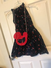 black and red floral sleeveless dress Kannapolis, 28081