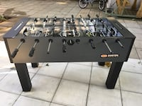 black and gray foosball table Montréal, H9H 1Y4