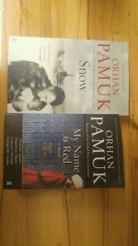 """Orhan Pamuk """"My Name is Red"""" ve """"Snow"""""""