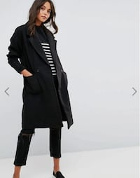 JDY Boyfriend Fit Coat  Oslo, 0372