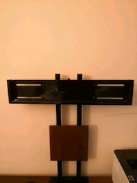 black wooden TV stand with mount Fairfax, 22031