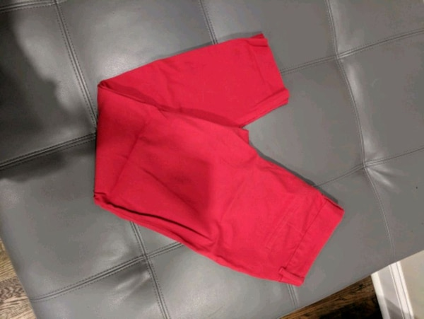 Red pixie pants size 2