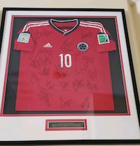 Colombia 2014 FIFA World Cup Brasil Team Signed Pembroke Pines, 33024