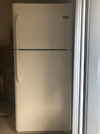 White top-mount refrigerator 41 km