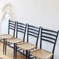 Gio Ponti's mcm rope chairs  made in Italy . Vancouver, V5K 1E2