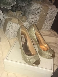 Badgley Mischka evening heels high heels