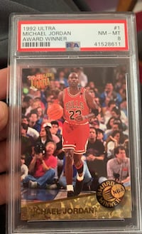 Michael Jordan Collectible Basketball Card!! El Paso, 79904