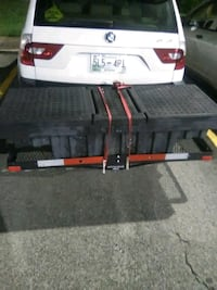 Cargo rack and tool box  null
