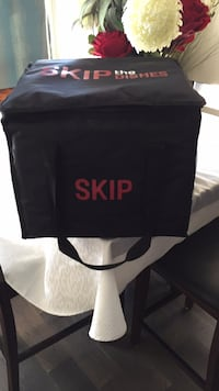 SKIP THE DISHES Delivery Bag Edmonton, T5X