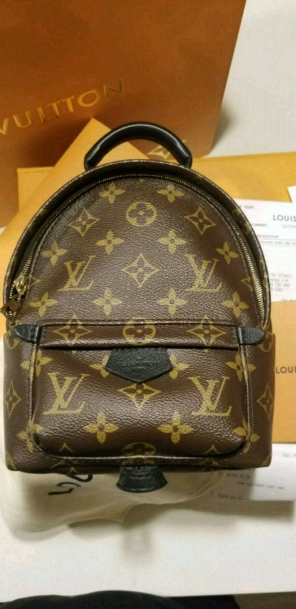 20ce64e3ba3f Used Louis Vuitton Palm Spring Mini 100% Authentic for sale in Calgary