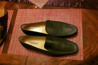 a.testoni  Men's brand new leather loafers 377 km