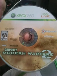 Xbox 360 Call of Duty Modern Warfare 2 game disc Goodlettsville, 37072