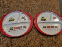 Kids beautiful plates ( pick up in Airdrie)