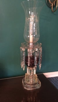 clear glass table lamp Wyomissing, 19610