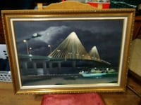 Alton Bridge at Night Painting  Washington, 63090