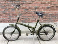 VINTAGE RALEIGH FOLDING BICYCLE Whitby, L1N 6T8