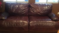 Brown leather sofa Sylmar, 91342