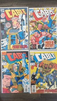 Four Cable comics 1-4 Toronto, M6E 3Z8