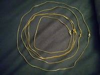 18K Gold Chain Necklaces