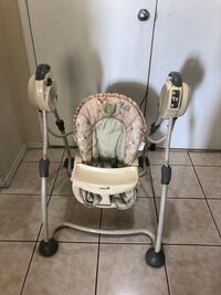 safety 1 baby swing five speeds and sounds , adjustable seat working and good condition Toronto, M1R 1S9