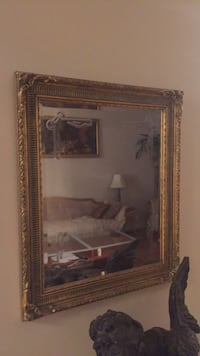 Gold leaf wood French mirror Richmond Hill, L4E 3W1