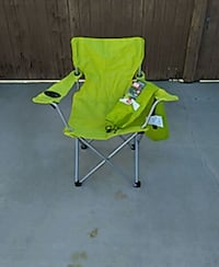 KidsYellow green camping  chair  Apple Valley, 92307