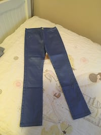 Girl pant blue unused (8-9 age) Palo Alto, 94303