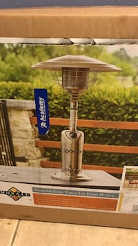 stainless steel table top patio heater box