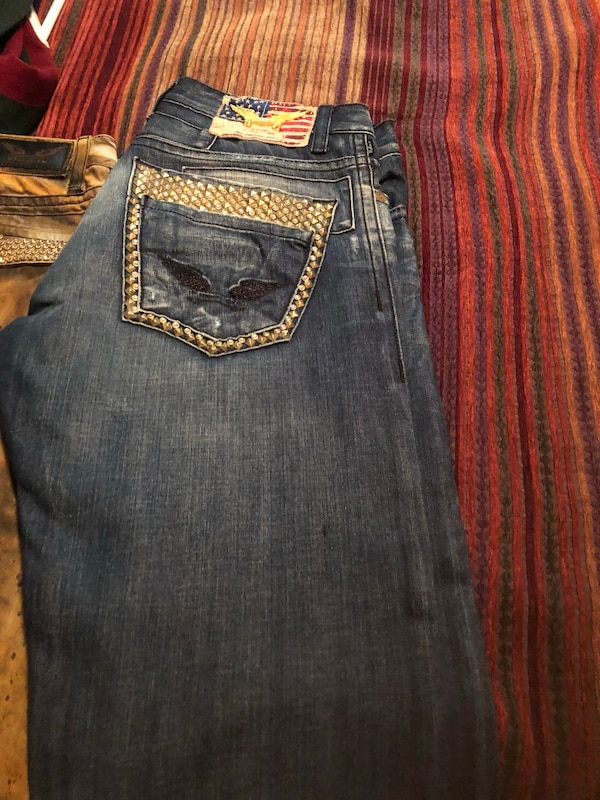 Men's robins jeans size 34