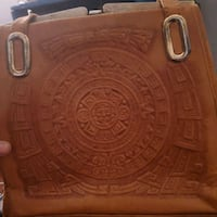 Made in Mexico authentic hand etched leather bag Oklahoma City, 73129