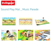 Dewingular music playmat  Quincy, 02170