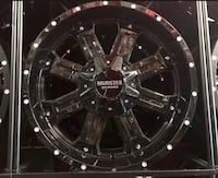 Chevy silverado wheels and tires  Sterling Heights, 48310