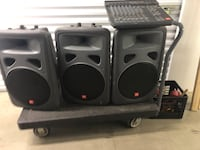 3 - JBL EON Speakers