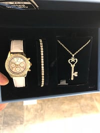 Watch, bracelet, necklace  378 mi