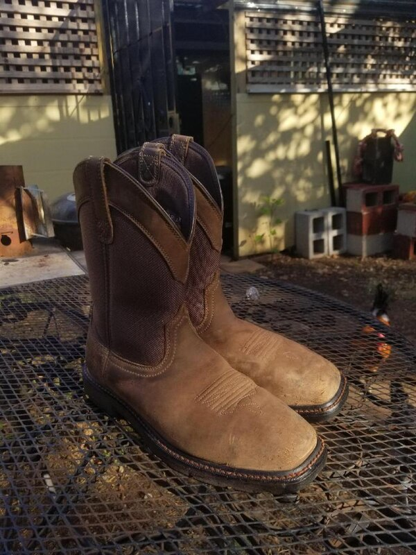 cheap for discount buy cheap free delivery Sold Ariat Groundbreaker Boots in Austin - letgo