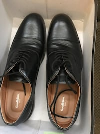 Men's size 11 Black Dress Shoes. Only worn twice   Cumming, 30041