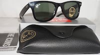 black framed Ray-Ban wayfarer sunglasses Brampton, L6V