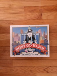 Don't Go to Jail: The Monopoly Dice Game (1991) Markham